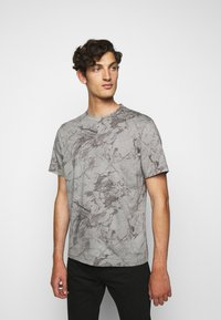 Theory - RACER TEE  - T-shirt imprimé - smoke - 0