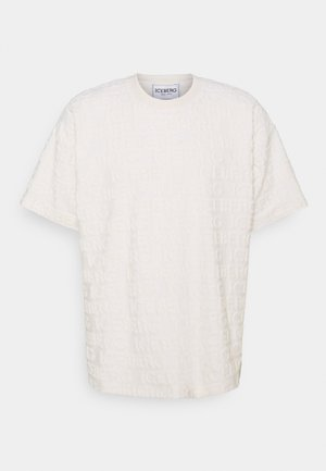 T-shirt print - cipria