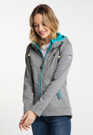 Outdoor jacket - gray melange
