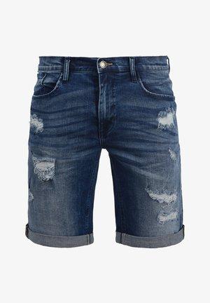 JEANSSHORTS DENIZ - Denim shorts - denim dark