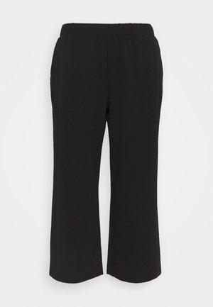 NMJASA CULOTTE PANT CURVE - Trousers - black