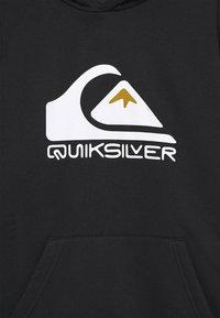 Quiksilver - BIG LOGO HOOD YOUTH - Hoodie - black - 2