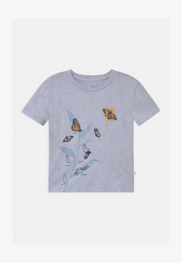 GIRLS NATIONAL GEOGRAPHIC - T-shirt print - blue