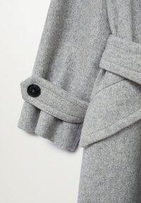 Mango - SWEET - Płaszcz wełniany /Płaszcz klasyczny - hellgrau meliert - 7