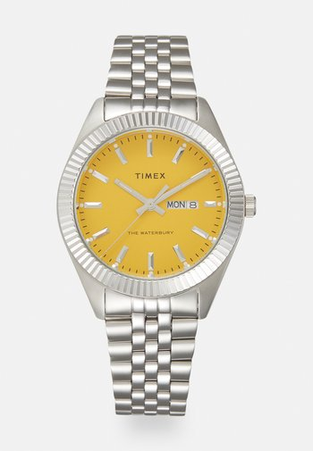 WATERBURY LEGACY UNISEX - Klokke - silver-coloured/yellow