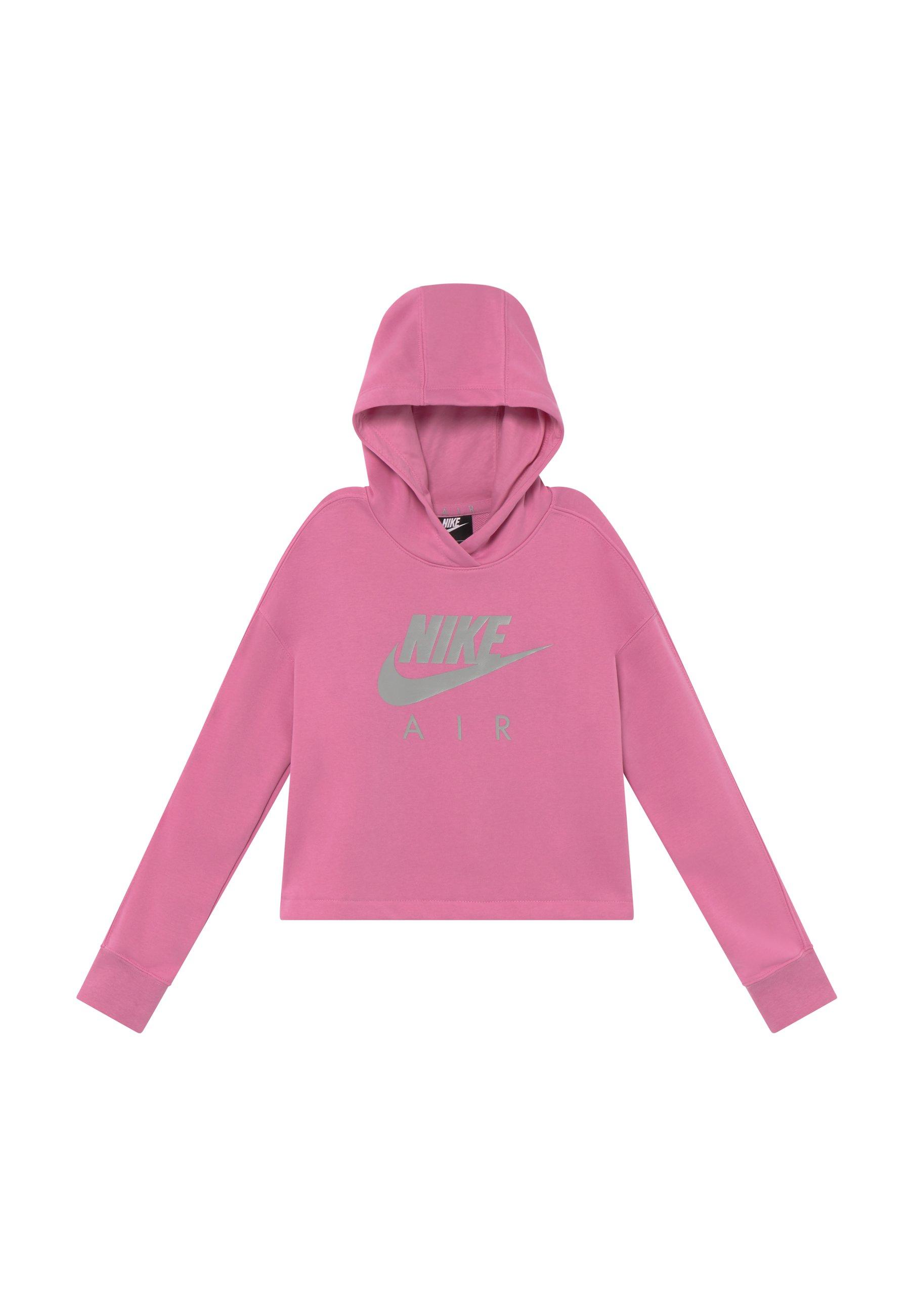 Nike Sportswear AIR CROP HOODIE Kapuzenpullover black
