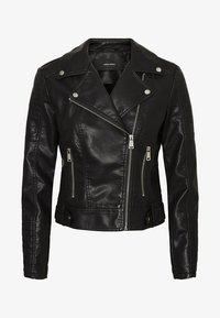 Vero Moda - VMKERRIULTRA  - Faux leather jacket - black - 4
