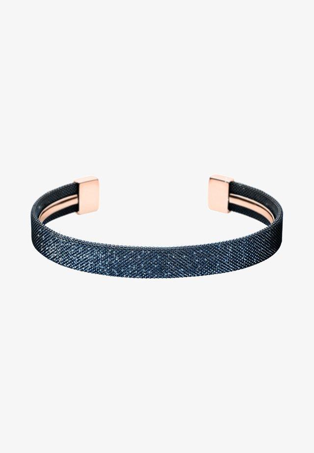MERETE - Bracelet - blue/rose gold-coloured