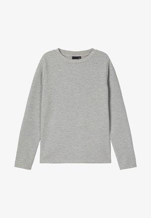 Longsleeve - grey melange