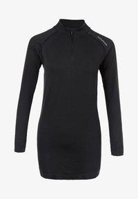 HALEN W SEAMLESS - Sports shirt - dark grey melange