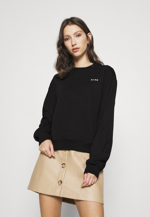LOGO BASIC - Sweatshirt - black
