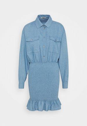Denimové šaty - denim blue