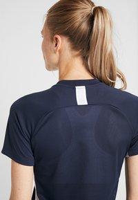 Nike Performance - DRY ACADEMY 19 - T-shirt print - obsidian/white - 5