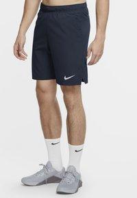 Nike Performance - FLEX - kurze Sporthose - obsidian/white - 0