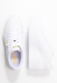 Puma - CALI WEDGE  - Joggesko - white - 3
