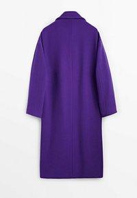 Massimo Dutti - Classic coat - dark purple - 1