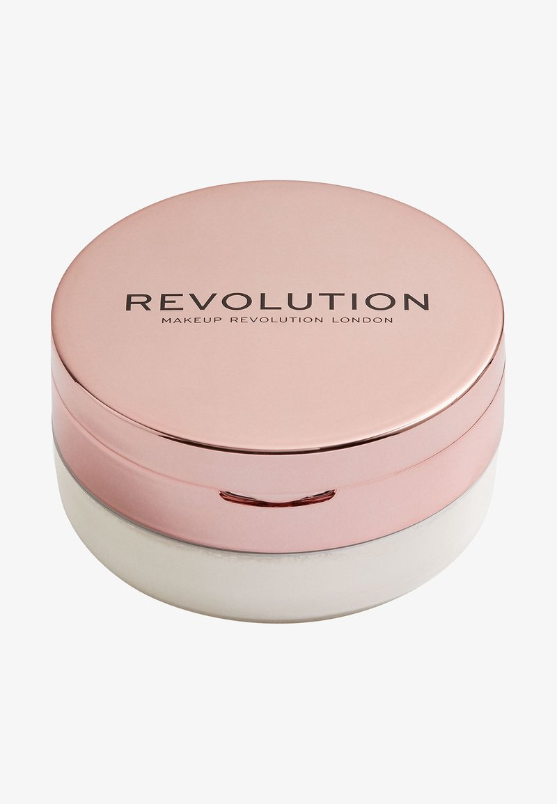 Make up Revolution - CONCEAL & FIX SETTING POWDER - Spray fixant & poudre - translucent