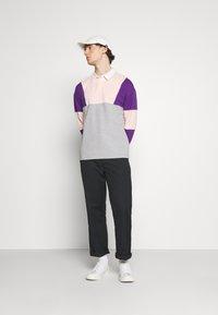 YOURTURN - UNISEX - Polo shirt - mottled grey - 1