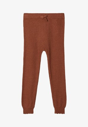 Tracksuit bottoms - carob brown