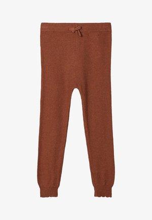 Træningsbukser - carob brown