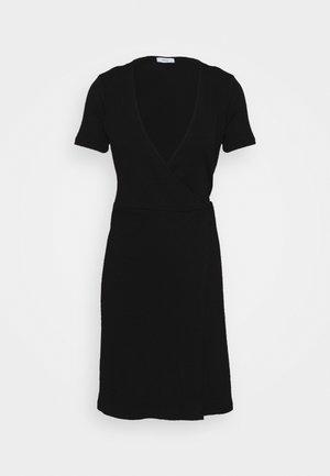 ENALLY DRESS - Pouzdrové šaty - black