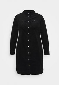 Dorothy Perkins Curve - DRESS - Day dress - black - 0