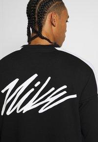 Nike Performance - M NK DRY TOP FLEECE PX - Sweatshirt - black/white - 4