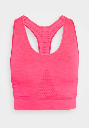 STAMINA WORKOUT BRA  - Sports bra - lipstick red