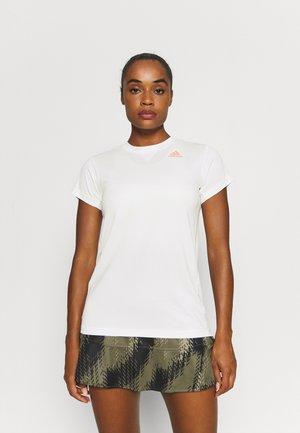 HEAT.RDY ACE CLUB - T-shirt basic - white/ambient blush