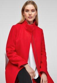 s.Oliver - Classic coat - red - 5