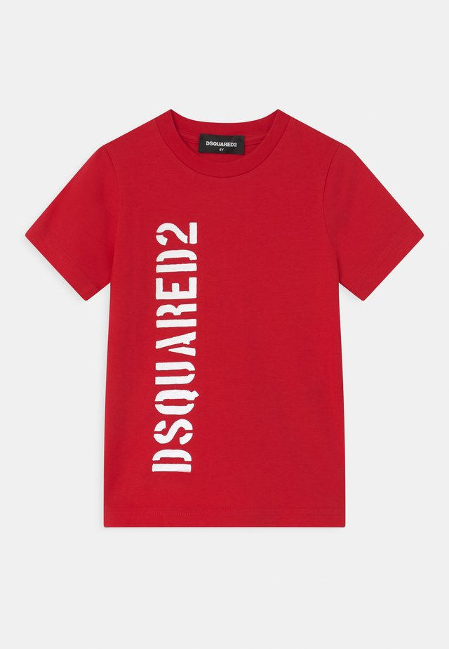 UNISEX - Print T-shirt - red