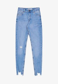 Bershka - LOW WAIST - Jeans Skinny Fit - blue - 5