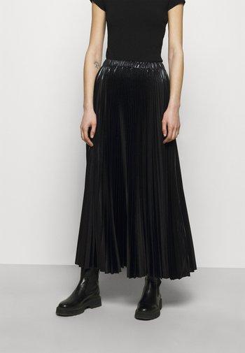 PRESENZA - Jupe plissée - black
