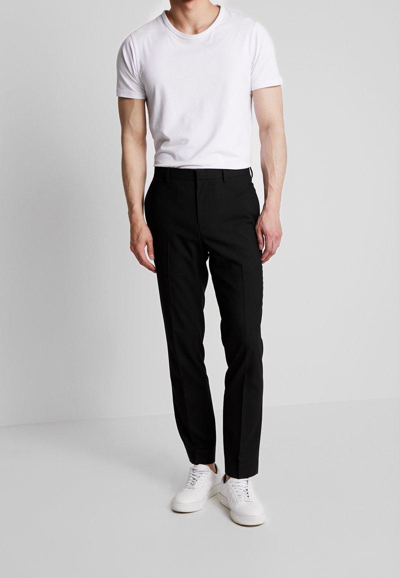 Burton Menswear London - STRETCH - Jakkesæt bukser - black