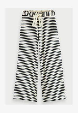 Tracksuit bottoms - white black