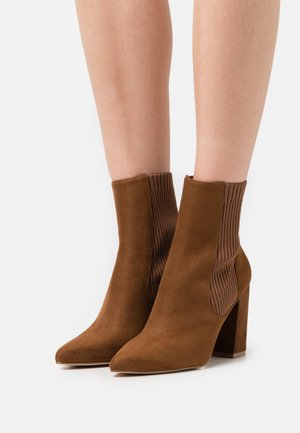 RECITE - Classic ankle boots - brown