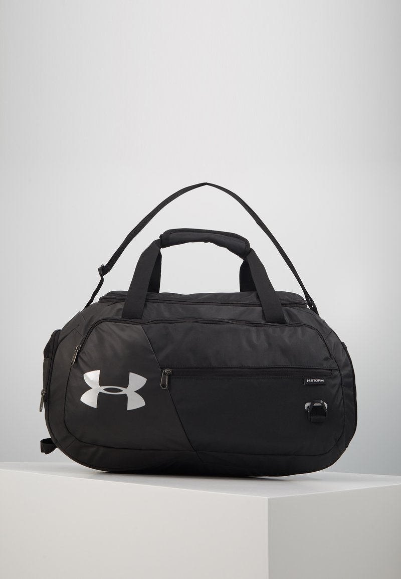 Under Armour - UNDENIABLE DUFFEL 4.0 SM UNISEX - Sports bag - black/silver