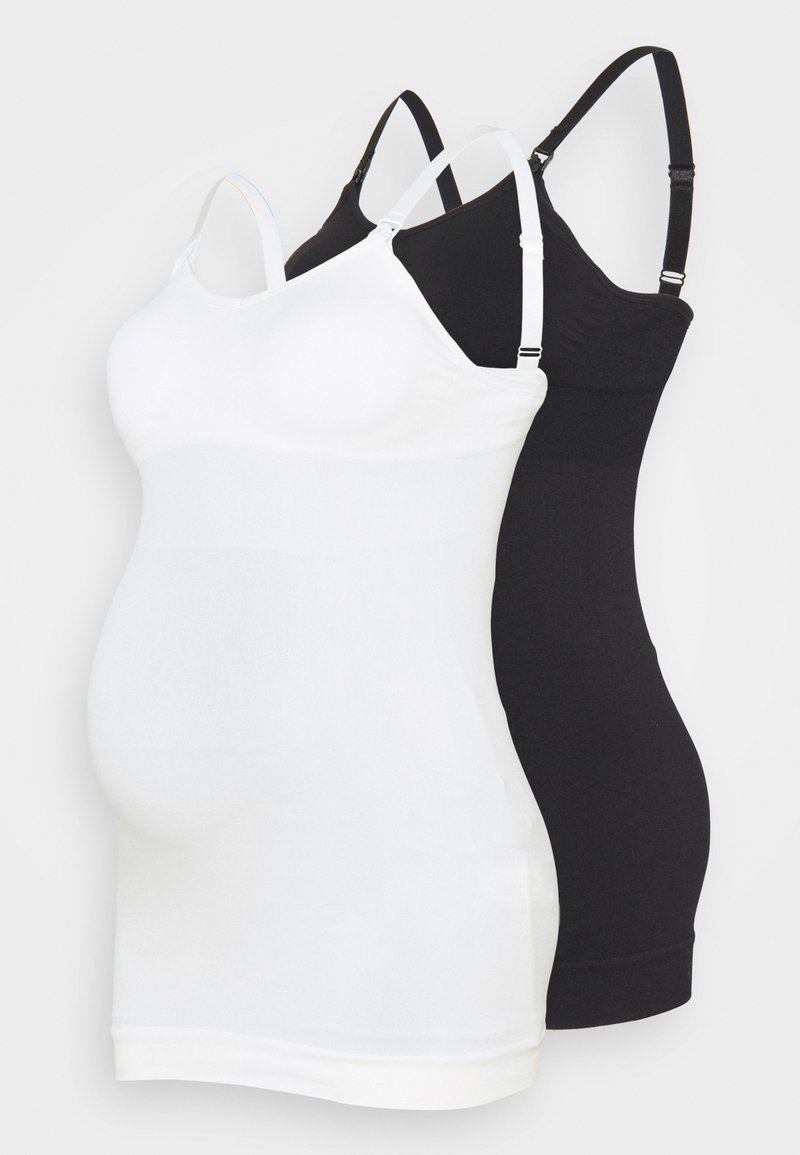 Even&Odd active - 2 PACK - Top - black/white