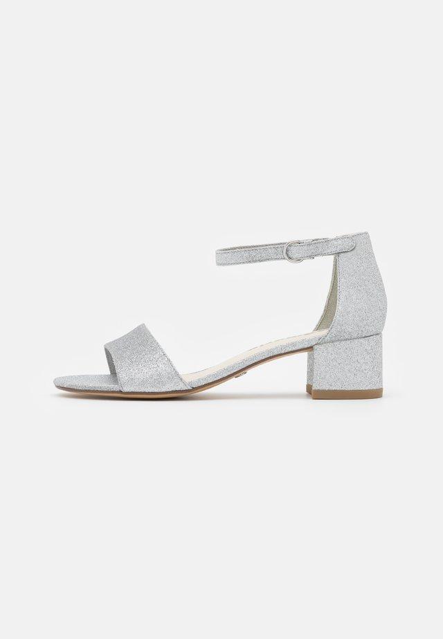 Sandaler - silver glam