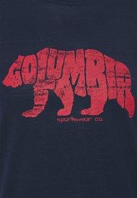 Columbia - TERRA VALE™ TEE - Print T-shirt - collegiate navy - 2