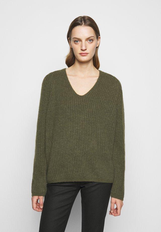 WOMENS - Sweter - lentil