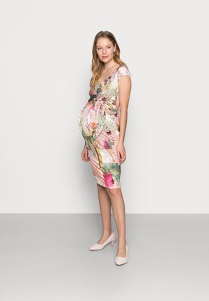 HOLLY NEW II - Pouzdrové šaty - mottled light pink