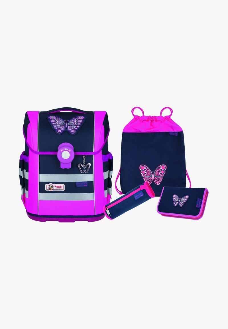 McNeill - SET 4 PIECES - School set - butterfly