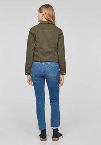 s.Oliver - Denim jacket - khaki - 2