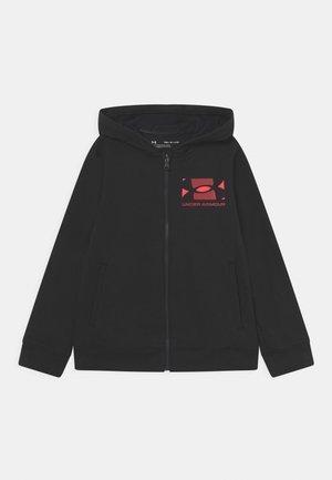 RIVAL HOODIE - Mikina na zip - black
