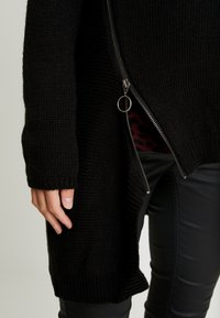 Supermom - CARDIGAN ZIP - Cardigan - black - 4