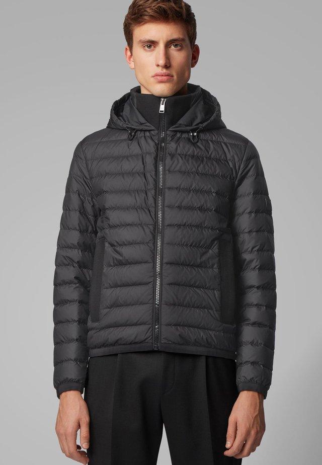 DAWOOD - Gewatteerde jas - black