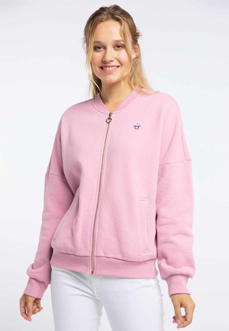 Big Discount Women's Clothing myMo Zip-up hoodie pink KDyNHeYpe