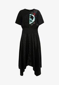 Desigual - VEST NOOSA - Korte jurk - black - 5