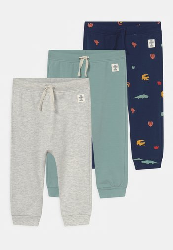 BABY 3 PACK - Trousers - green